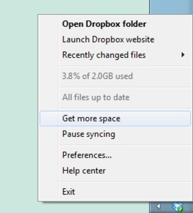 Dropbox - Dropbox bietet einen Online-...schiedenen Systemen abgleichen lassen.  | Foto: IDG