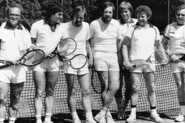 Seit 50 Jahren Tennis in Kenzingen