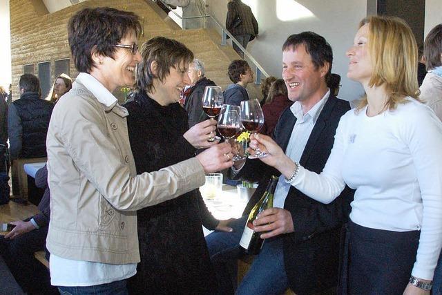 Ein Weingut, nah dran an den Reben