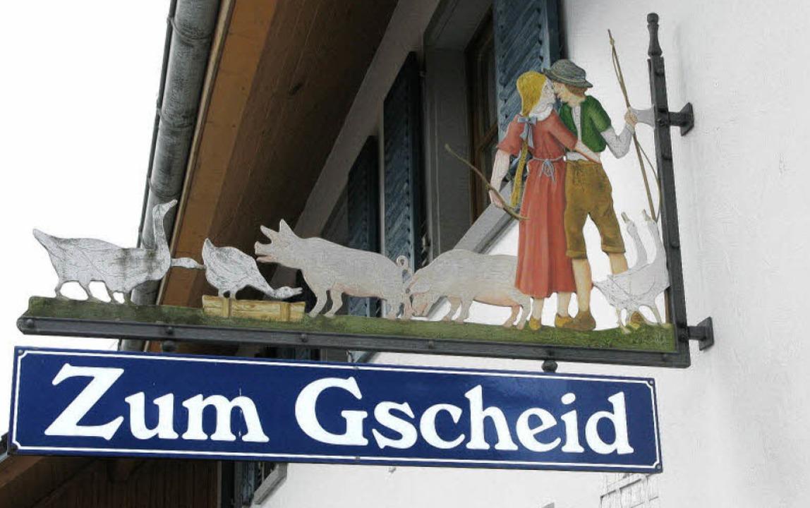 Ein Wegweiser, dem man durchaus folgen kann gerhard walser  | Foto: Gerhard Walser