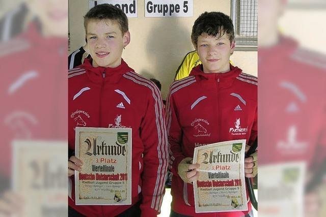 Riesenerfolg für junge Radballer