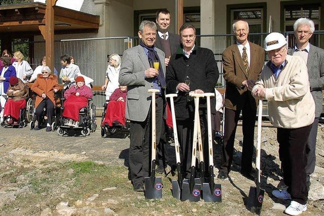 Spatenstich für neues Pflegeheim