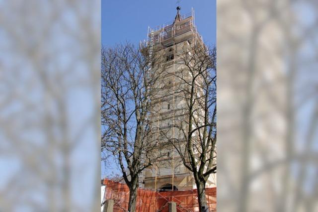Spenden für den Turm der Martinskirche