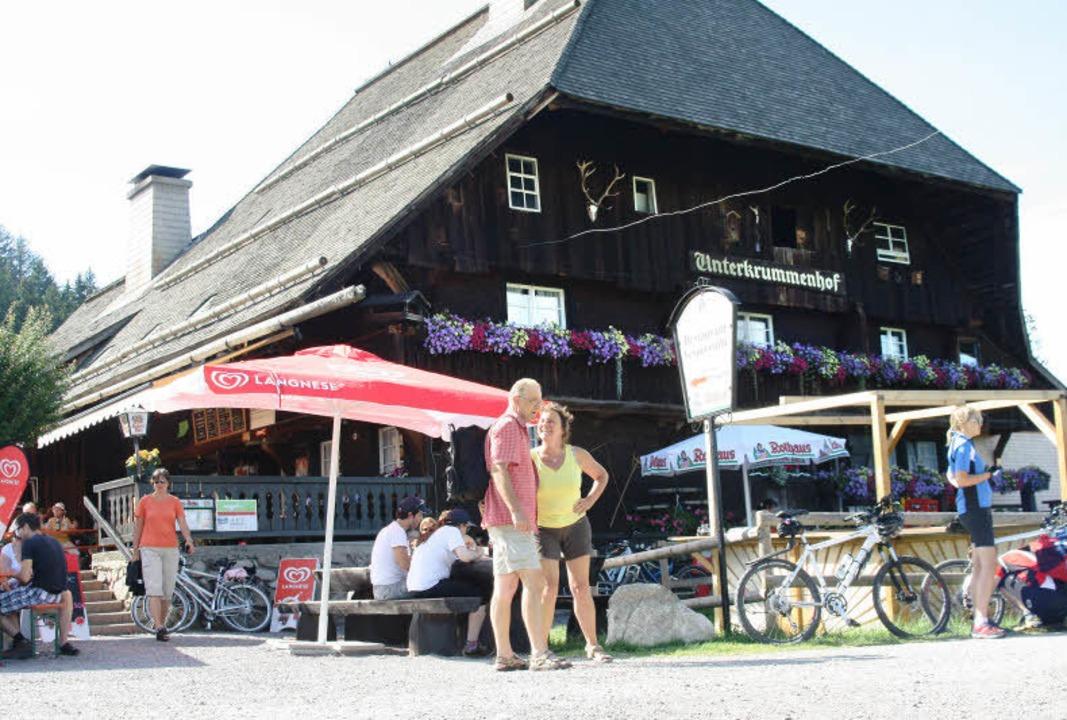 Seit 30 Jahren ein beliebtes Ausflugsziel: der Unterkrummenhof am Schluchsee.   | Foto: Roswitha klaiber