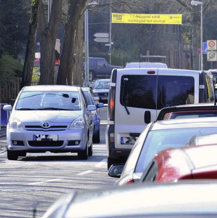 Die Verkehrssituation in der Wiehre wird heftig diskutiert.   | Foto: Bamberger