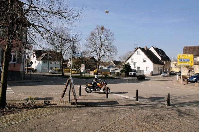 Ein Kreisel für die Rathaus-Kreuzung