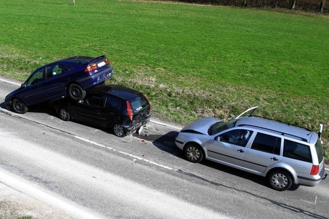 Unfall mit Domino-Effekt