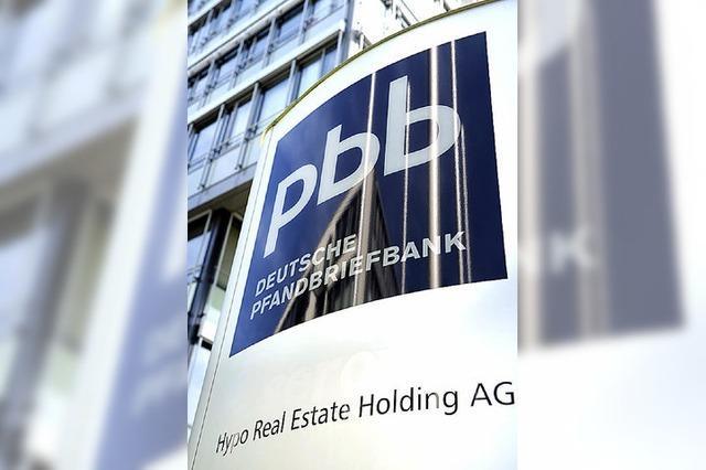 Die Krisenbank Hypo Real Estate putzt sich für den Verkauf heraus