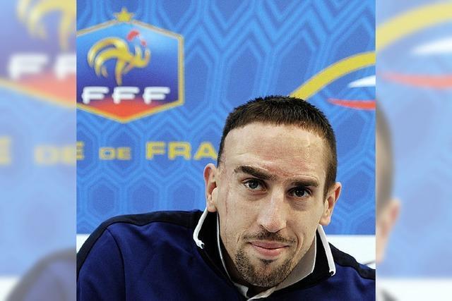 Ribérys Comeback im Nationalteam: Blauer auf Bewährung