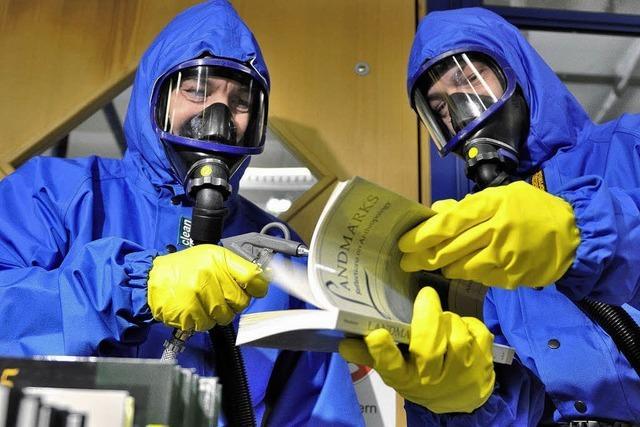 Asbest in der Uni Konstanz: Ausnahmezustand, monatelang