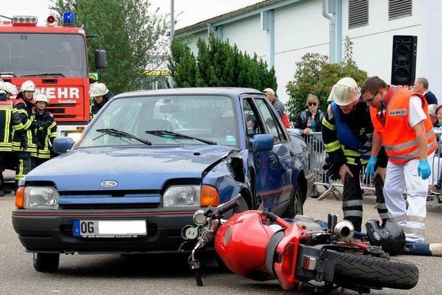 Weniger Motorradunfälle im Ortenaukreis