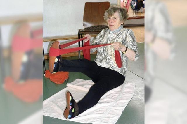 Selbst im Alter beweglich bleiben