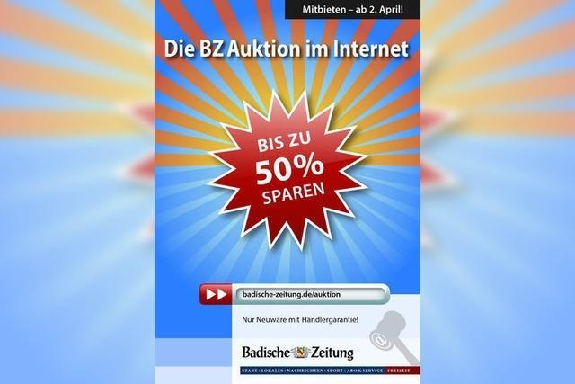 BZ Auktion: Die Schnäppchenjagd geht wieder los!