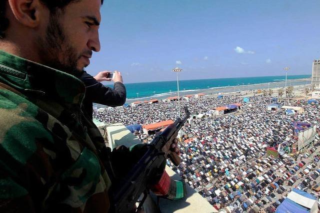 Libyen entzweit Sarkozy und Westerwelle