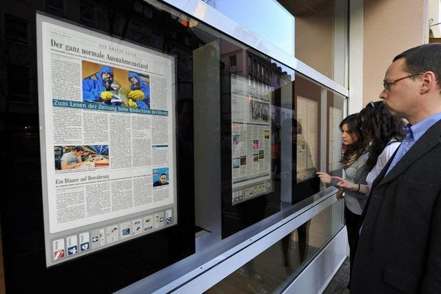 Das digitale Schaufenster