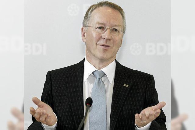 Der BDI opfert seinen Geschäftsführer Schnappauf