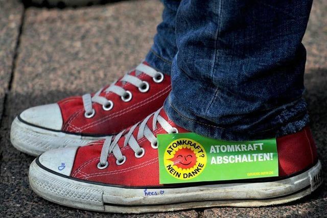 Größte Demo gegen Kernkraft