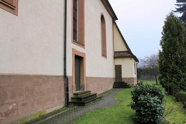 Eingang bei Sakristeitür