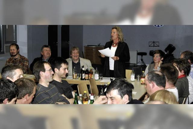 Bürgermeisterin informiert über aktuelle Themen