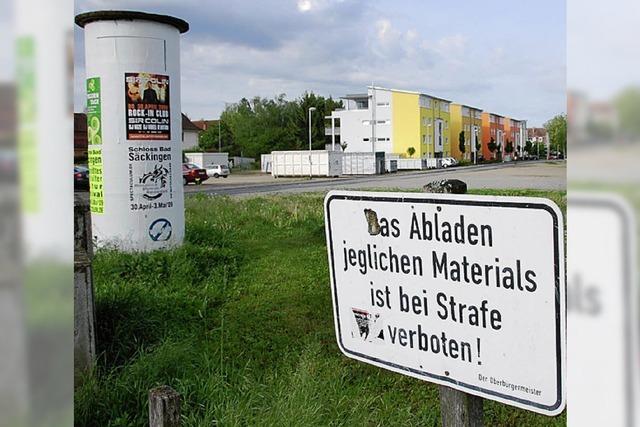 Grundstück am Messeplatz: Verkauf im Juli
