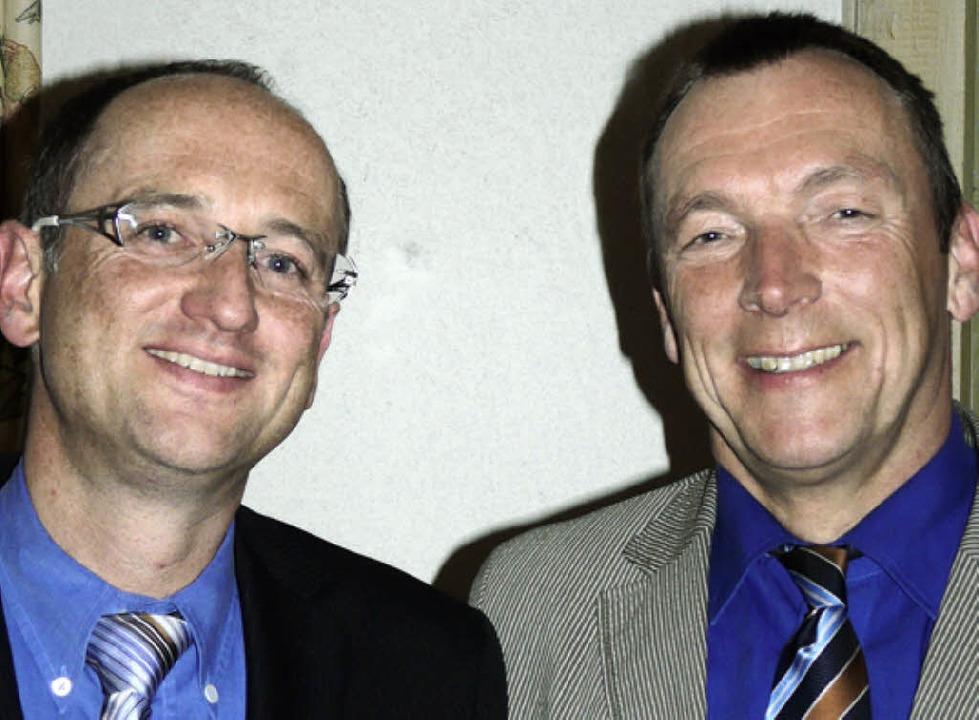 Horst Völlmecke (rechts) und Peter Drubba.   | Foto: privat