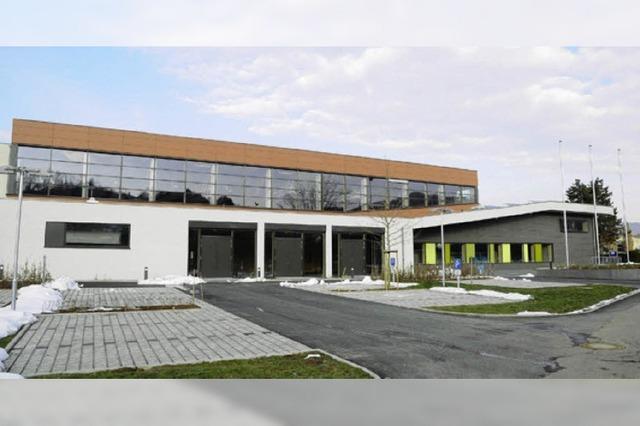 Die neue Alemannenhalle