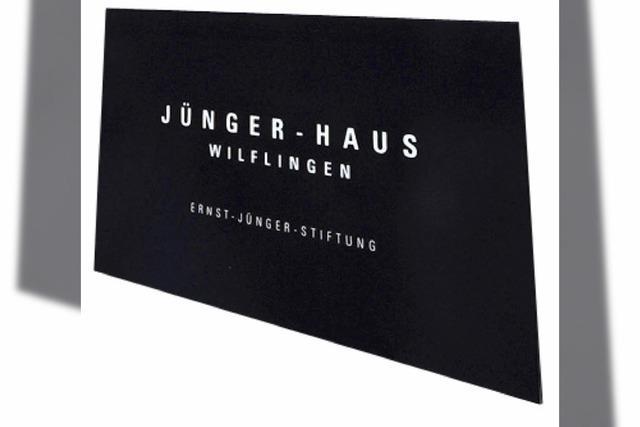 Ernst-Jünger-Haus wird Gedenkstätte: Kaltbad in mildem Rosa