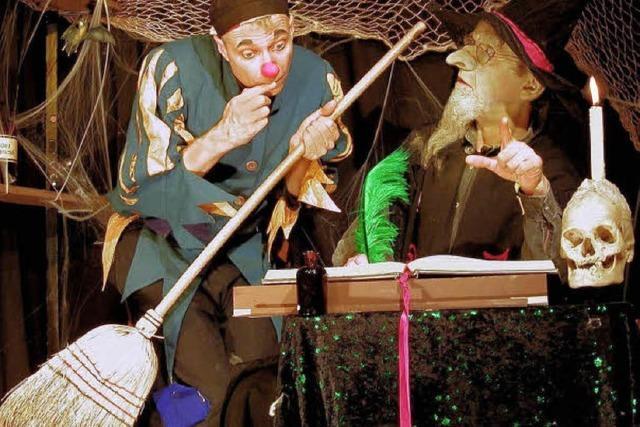Goethe als Clownerie nicht nur für Kinder
