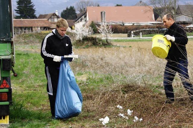 800 Kilo Müll gesammelt