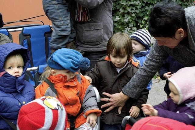 Wenn Kindergartengruppen verreisen