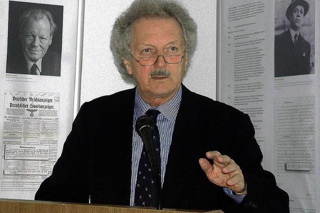 Der realistische Pazifist Albert Einstein und die Nazis