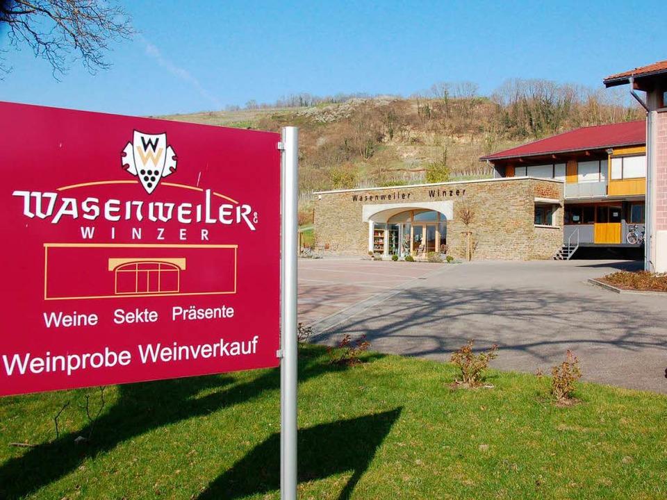 Die Genossenschaft Wasenweiler Winzer ...ingen planen eine enge Zusammenarbeit.  | Foto: Gerold Zink