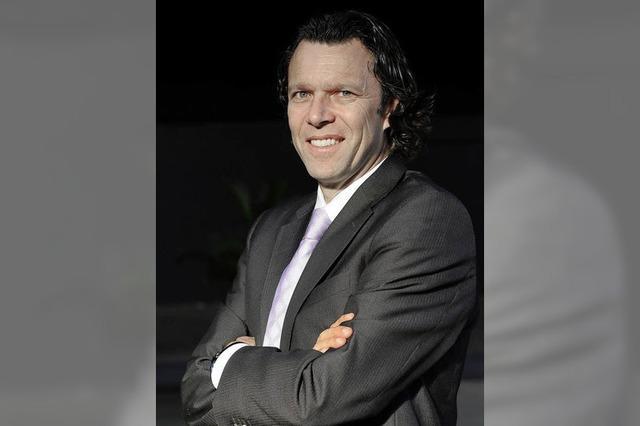 Ex-FIFA-Schiedsrichter Urs Meier in Freiburg