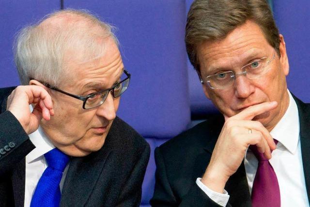 FDP-Machtkampf: Hat Brüderle Westerwelle gedroht?