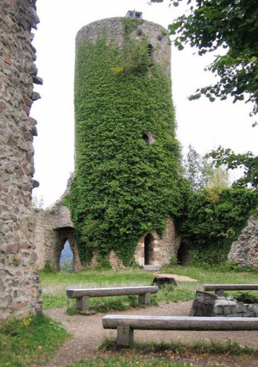 Turm der Burg mit toller Aussicht.  | Foto: Markus Maier