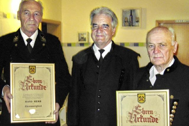 Bergmannsverein ehrt treue Ehrenmitglieder