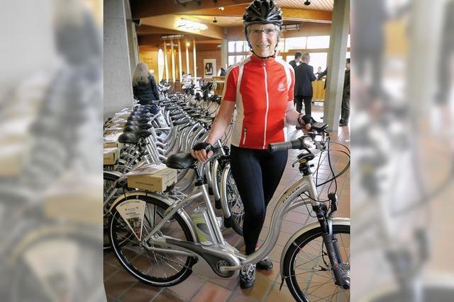 30 E-Bikes für Bellingen