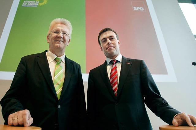 Grüne und SPD beginnen ihre Koalitionsverhandlungen