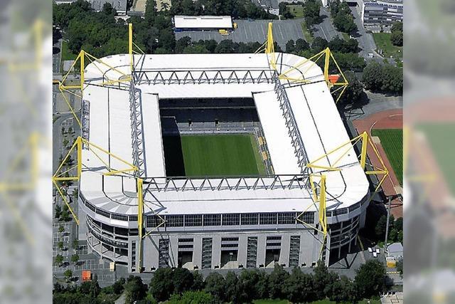 Sprengsätze am Dortmunder Stadion