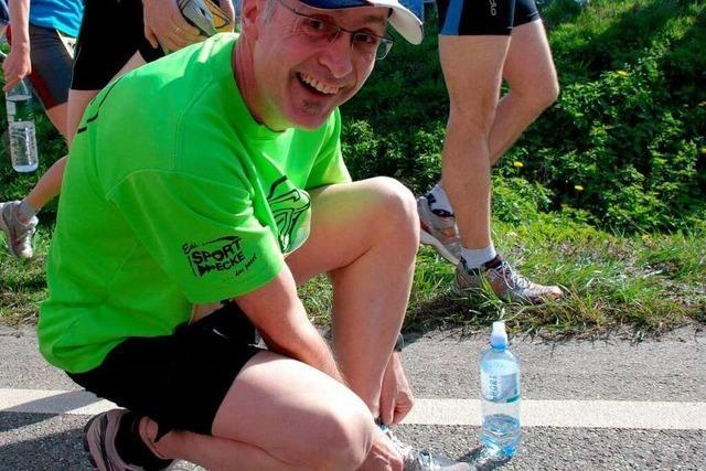 Fotos vom Freiburg-Marathon 2011: Der Countdown
