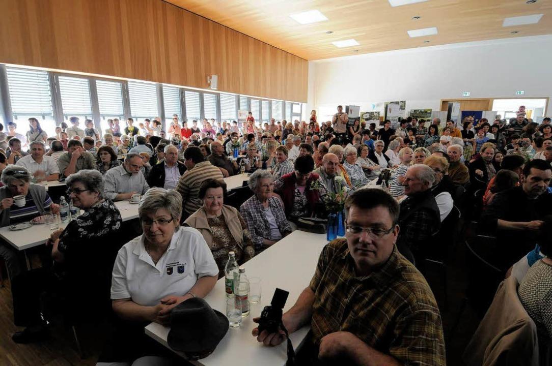 Eröffnung des Bürgerhauses in Rheinhau... der Offenen Tür kamen viele Besucher.  | Foto: Siegfried Gollrad
