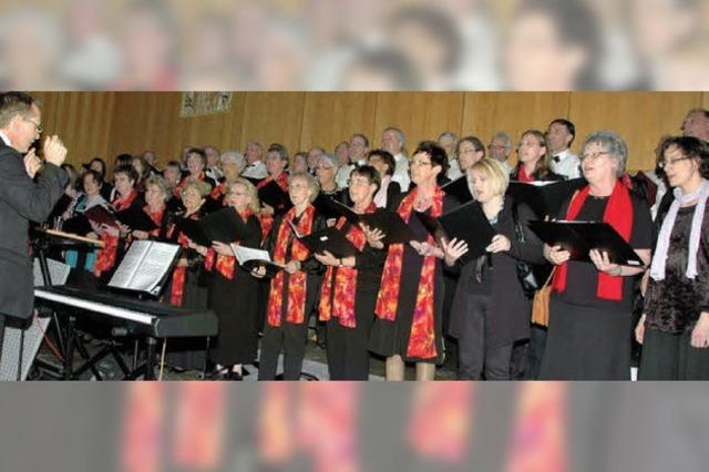 Das Singen manifestierte Freiheitswille