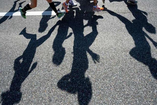 Freiburg-Marathon 2011: Mit Spaß und Wassergürtel ins Ziel