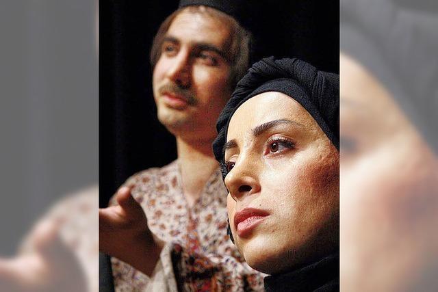 Zwei Theatergruppen aus Isfahan gastierten in Freiburg
