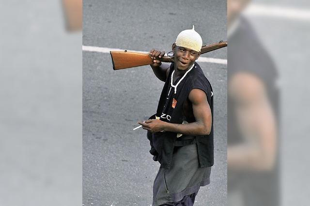 In Elfenbeinküste eskaliert der Bürgerkrieg