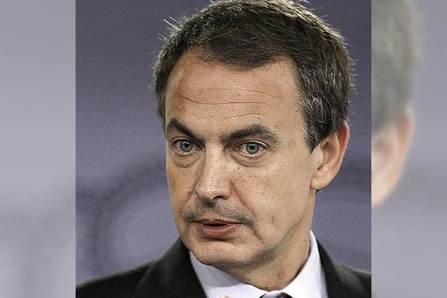 Zapatero ist amtsmüde und will 2012 aufhören