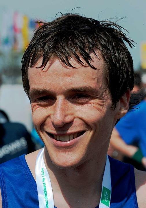 Marathonsieger Nils Schallner  | Foto: seeger