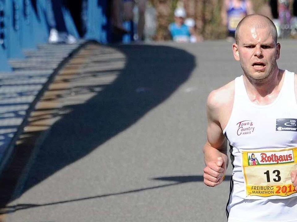 Halbmarathonsieger Phillip Willaschek  | Foto: Copyright by Achim Keller