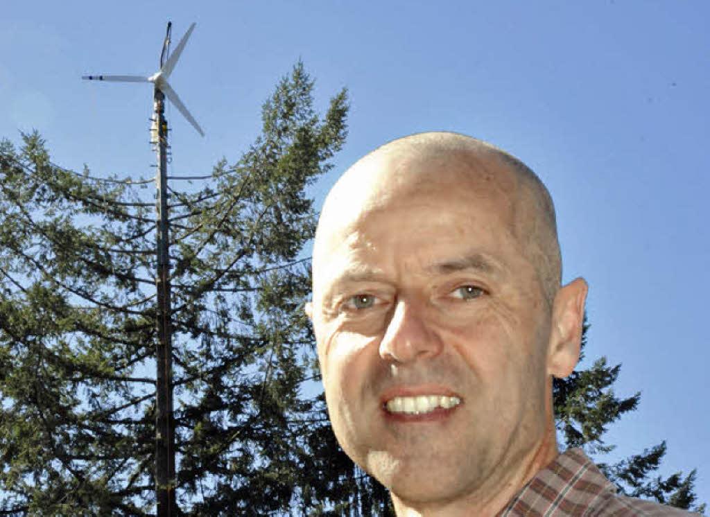 Architekt Emmendingen viele kleine windmühlen statt gigantische rotoren kreis emmendingen badische zeitung