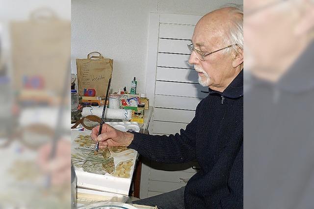 Richard Braun wurde 85 Jahre